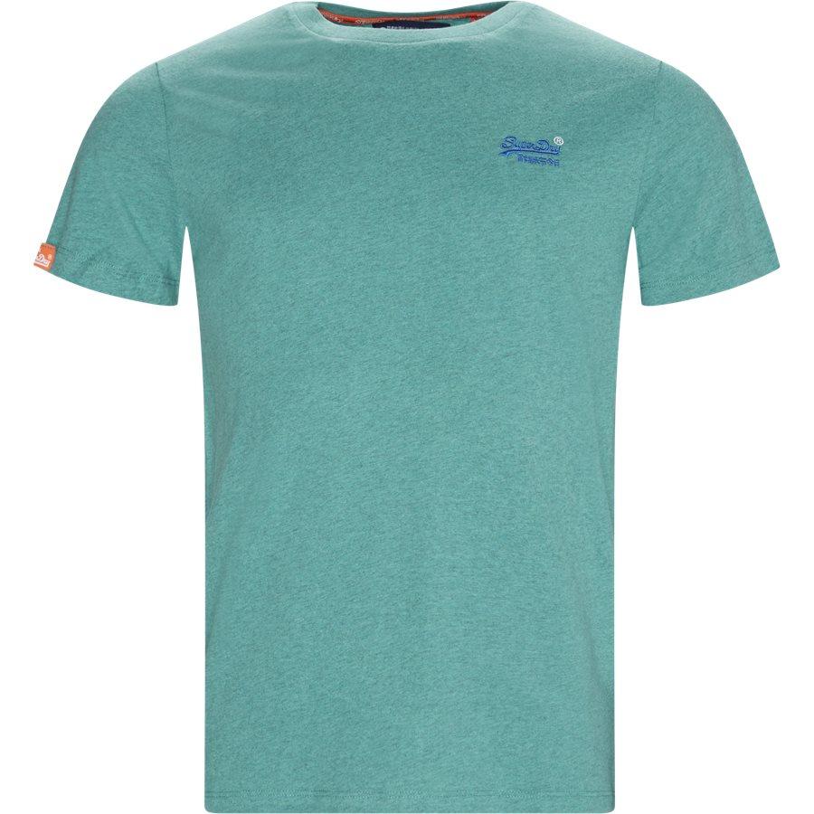 M1010 - T-shirts - Regular - GRØN W6T - 1